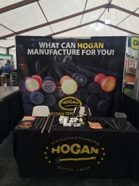 Hogan Tent Stakes Booth at Tent Expo 2017