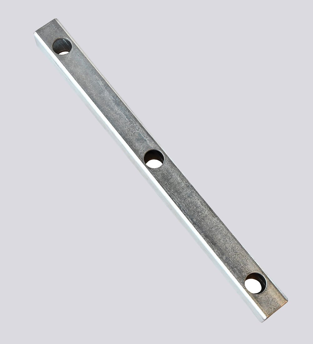 Three Hole Stake Bar Zinc Plated