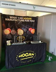 Hogan Tent Stakes Booth